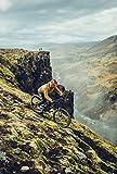 Ergon GE1 Evo Fahrrad Lenker Griffe MTB AM Mountain Bike Gravity DH Downhill Rad Sport, 424110, Farbe Schwarz, Größe Standard - 2