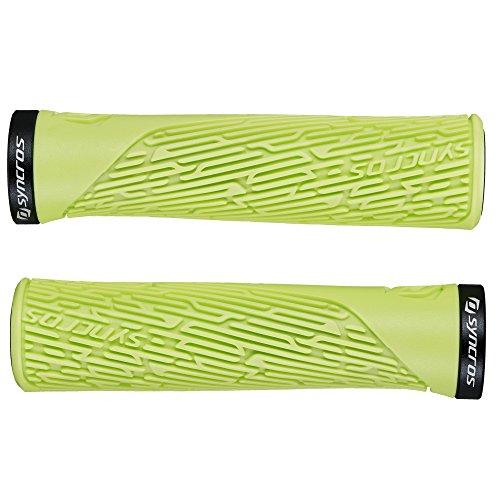 Syncros Pro Lock-On Damen Fahrrad Schraubgriffe grün