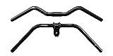 SQlab 321 Fahrradlenker, Schwarz/Grau, 25.4 mm