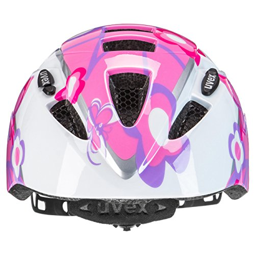 Uvex Kinder Kid 2 Fahrradhelm, Butterfly, 46-52 cm - 4
