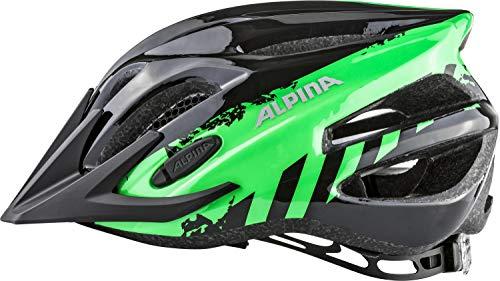 ALPINA Jungen Fb Jr. 2.0 Fahrradhelm, Black-Green, 50-55 cm - 5
