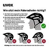 Uvex Erwachsene I-Vo Fahrradhelm, schwarz, 56-60 cm - 5