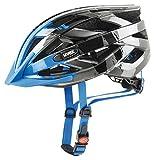 Uvex I-VO C Fahrradhelm, Dark Silver-Blue, 56-60 cm