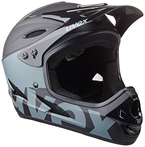 UVEX Helm Hlmt 9 Bike, Black/Dark Silver, 59-60 cm