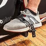 SportPlus Fahrradergometer mit App-Steuerung, Google Street View, Wattanzeige, ca. 10kg Schwungmasse, 24 Widerstandsstufen, Handpulssensoren, Nutzergewicht bis 150kg, Sicherheit geprüft - 6