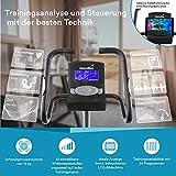 skandika Ergometer Morpheus, Fitnessbike, Heimtrainer mit Bluetooth, Pulsgurt, 32 einstellbare Widerstandseinstellung und Multifunktionscomputer mit Kalorienverbrauch, Puls - 3