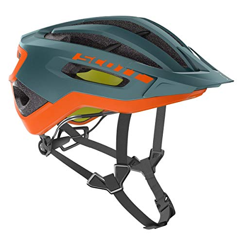Scott Fuga Plus Fahrrad Helm grün/orange