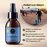 Ultra Pur MagnesiumÖl Spray - 1000ml + 100ml | 100% Natürlich Reines Zechstein Öl von Organic Magnesium | Perfekt für Sport & Muskel entspannung | Flüssig Oil Konzentrat - 7