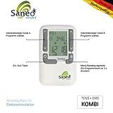 SaneoSPORT Muskeltraining * EMS Gerät * Muskelstimulator * deutsche Markenqualität * Medizinprodukt - 3