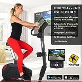 Premium HAMMER Ergometer Heimtrainer Cardio-Motion BT, APP Steuerung für Smartphone/Tablet: u.a. Kinomap, iConsole+, BitGym, tiefer Einstieg für gesundes Training, 22 Programme, 130 kg Benutzergewicht - 5