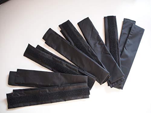 Drachenhaut Gürtelverlängerung schwarz - 2