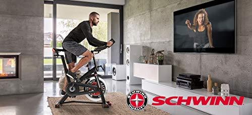 Schwinn Speedbike IC7 Fitnessbike mit LCD-Display, stabile Rahmenkonstruktion, Tablethalterung, 18 kg PWD Schwungrad, drahtlose Herzfrequenzmessung, max. Benutzergewicht 136 kg - 11