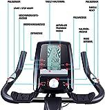 Sportstech Indoor Speedbike SX200 Sportgerät für Zuhause | Deutsche Qualitätsmarke + Video Events & Multiplayer APP | Hometrainer für Fitness | Heimtrainer-Fahrrad mit 22KG Schwungrad | inkl. eBook - 7