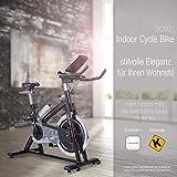 Sportstech Indoor Speedbike SX200 Sportgerät für Zuhause | Deutsche Qualitätsmarke + Video Events & Multiplayer APP | Hometrainer für Fitness | Heimtrainer-Fahrrad mit 22KG Schwungrad | inkl. eBook - 8