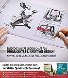 Sportstech Indoor Speedbike SX500 | Deutsche Qualitätsmarke + Video Events & Multiplayer APP | 25kg Schwungrad & leiser Riemenantrieb | Pulsgurt kompatibel + SPD Klickpedale | Nutzergewicht max. 150kg - 5