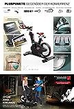 Sportstech Elite Indoor Cycle Bike – Deutsche Qualitätsmarke - Video Events & Multiplayer APP, computergesteuertes Magnetbremssystem,26KG Schwungrad,SX600 Speedbike Sportlenker, Ergometer inkl. eBook - 2