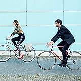 MOTOBICYCLES Fahrradpedale Urban Reflex Blau Mit Verstellbaren Pedal-Breiten | Cycle Testsieger | Glasfaserverstärktem Kunststoff - Für Fixie Bike, Singlespeed Fahrrad, BMX MTB Pedale u.v.m. - 5