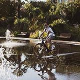 LOOK Cycle - Geo City Grip Fahrrad Pedale - Anti-Rutsch Flat Pedale - Innovative Activ Gummi Oberfläche - Premium Hochleistungs Fahrradpedale für Cityräder - Crazy Camo - 3