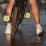 LOOK Cycle - Geo City Grip Fahrrad Pedale - Anti-Rutsch Flat Pedale - Innovative Activ Gummi Oberfläche - Premium Hochleistungs Fahrradpedale für Cityräder - Limone - 4