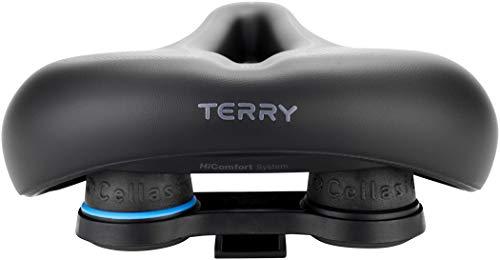 TERRY Herren Anatomic Flex Gel Fahrradsattel, Black, One Size - 4