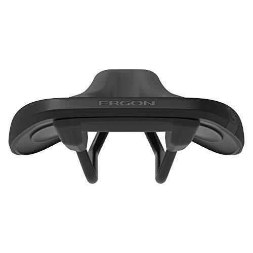 Ergon – SMC Sport Gel Fahrradsattel | MTB Comfort | Männer | Medium/Large | Stealth Schwarz - 4
