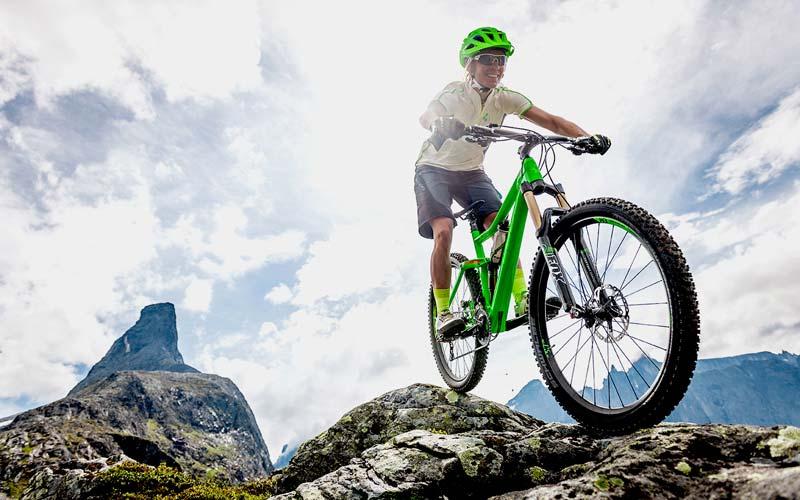 Mountainbiking trainiert den ganzen Körper