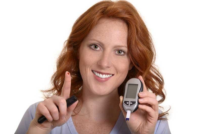 Blutzucker Kontrolle bei Diabetes