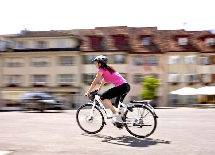 Ein E-Bike beugt Überlastungen in der Schwangerschaft vor