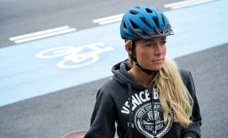 Damen Fahrradhelm