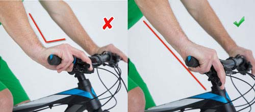 Schalt- und Bremshebel ergonomisch ausrichten