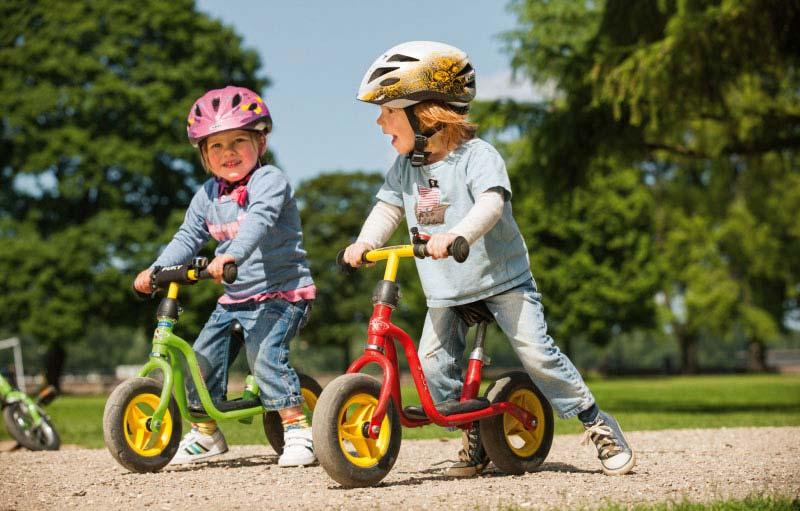Ein Laufrad ist der optimale Einstieg fürs Radfahren