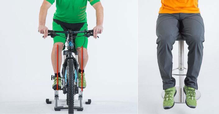 Richtige Fußstellung auf dem Pedal finden