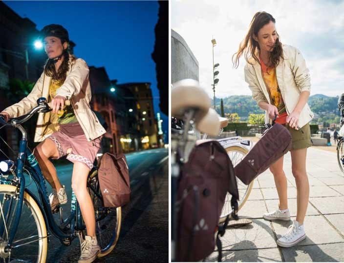 Radbekleidung kann auch alltagstauglich sein