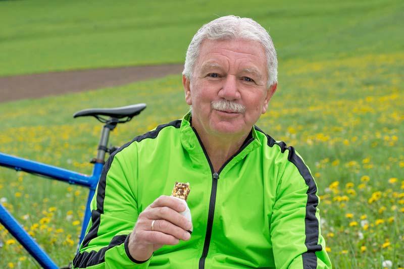 Energieriegel für die Radtour