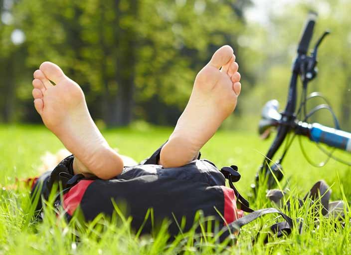 Gönnen Sie ihren Füßen regelmässig Pausen