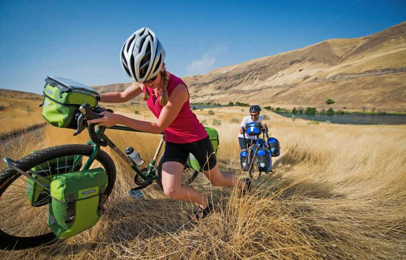 Für Radreisen benötigt man einigen Stauraum