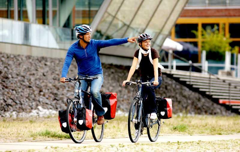 Mit der richtigen Ausrüstung machen Radreisen Spaß