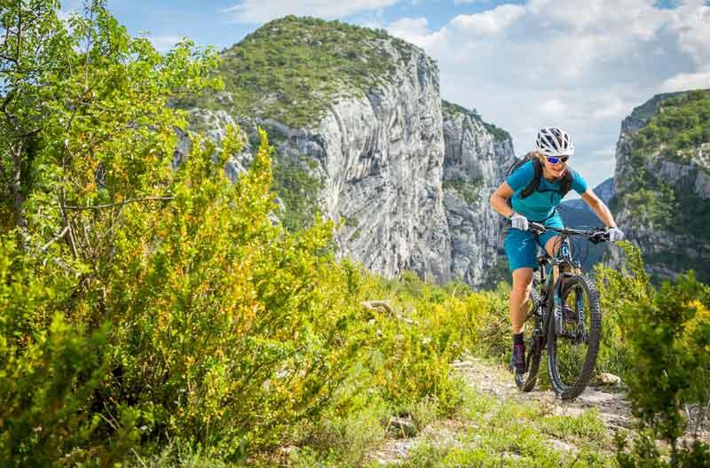 Mountainbiken erleichtert das Abnehmen