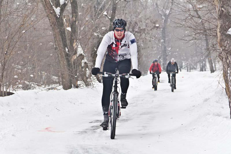 Radfahren im Winter stärkt das Immunsystem