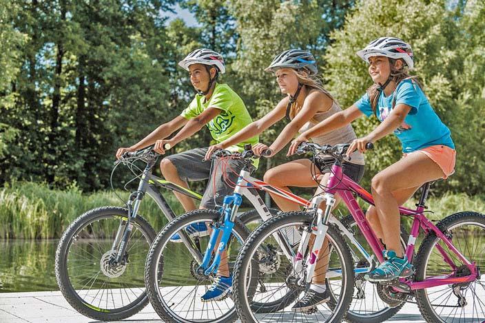 Das Fahrrad als Sportgerät und Verkehrsmittel