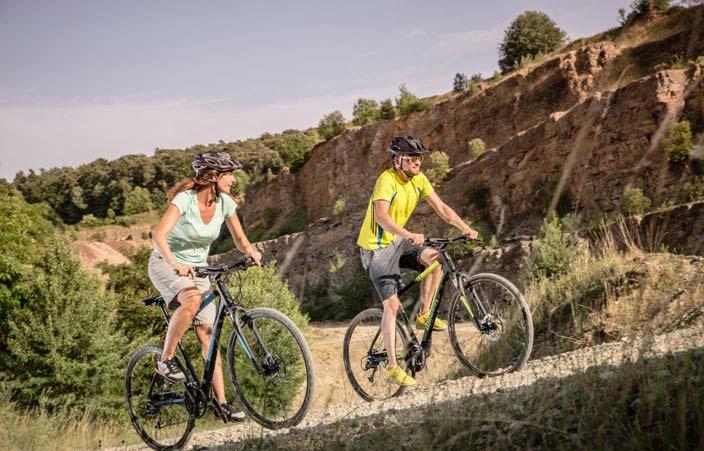 Radfahren stärkt die Abwehrkraft