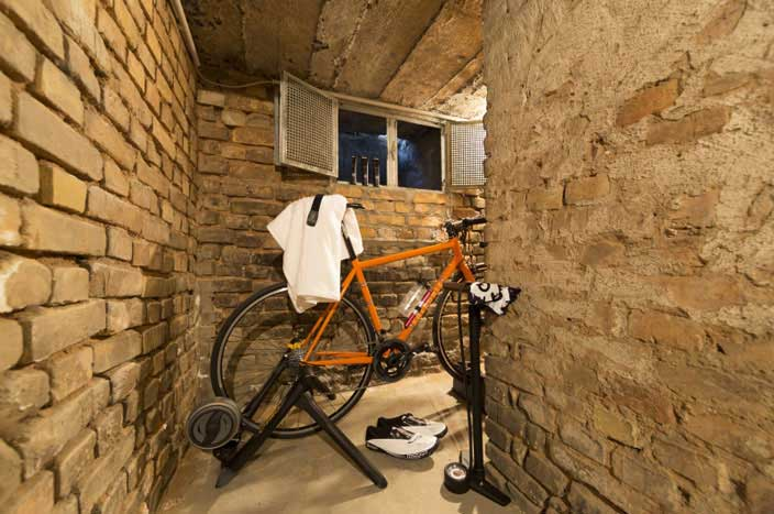 Rollentraining im Keller | fahrrad-gesundheit.de