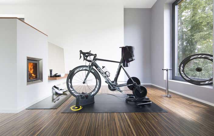 Rollentraining mit Direct Mount Trainer | fahrrad-gesundheit.de