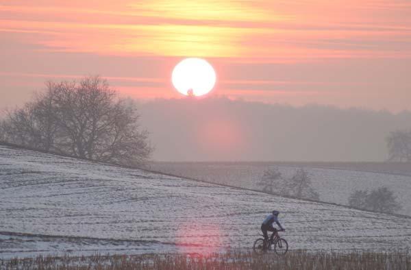 Im Winter muss man die wenigen Sonnenstrahlen nutzen