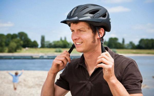 Fahrradhelm richtig einstellen