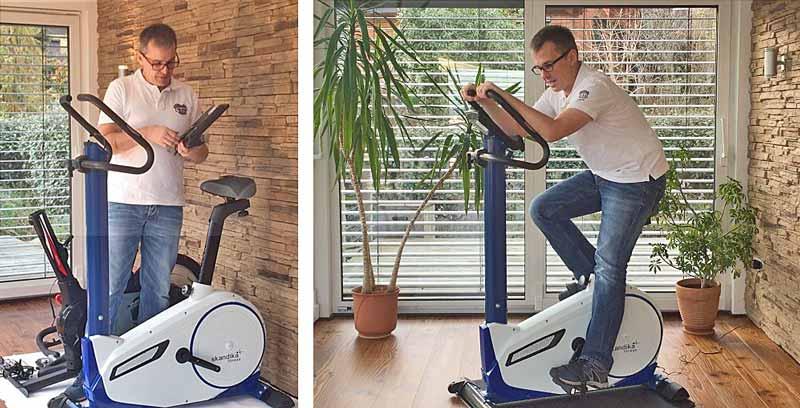Skandika Ergometer Test | fahrrad-gesundheit.de
