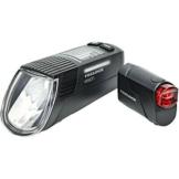 Trelock LS 760 I-GO Vision/LS 720 Beleuchtungs Set black 2019 schwarz