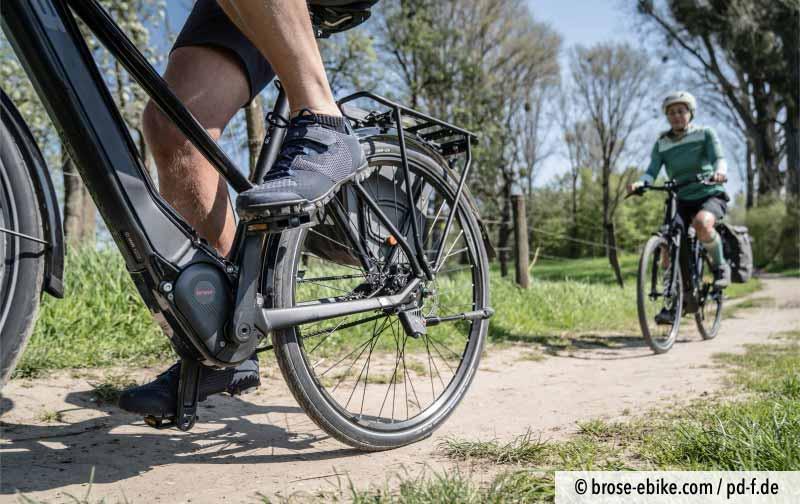 Radtouren mit Pedelec sin auch auf unbefestigten Wegen möglich.