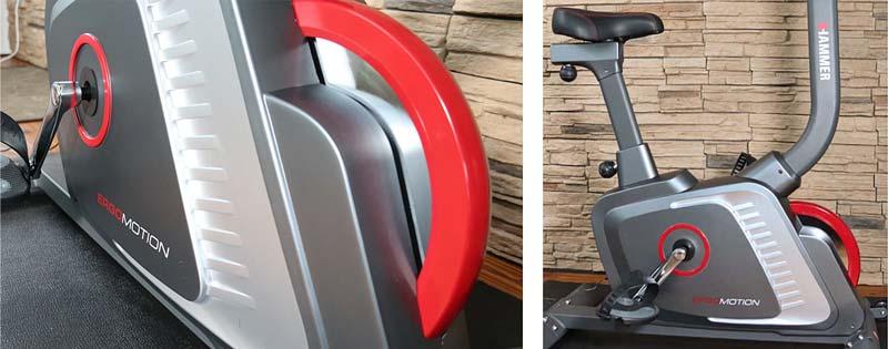 Modernes Design beim Hammer Ergo Motion Ergometer im test