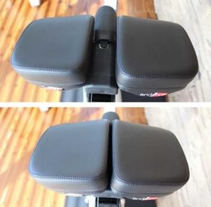 Das Bild zeigt die verschiedenen Einstellmöglichkeiten beim Endzone Vario Comfort Sattel